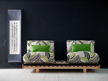 Chill out sofa-futon – Ximple 080cm.